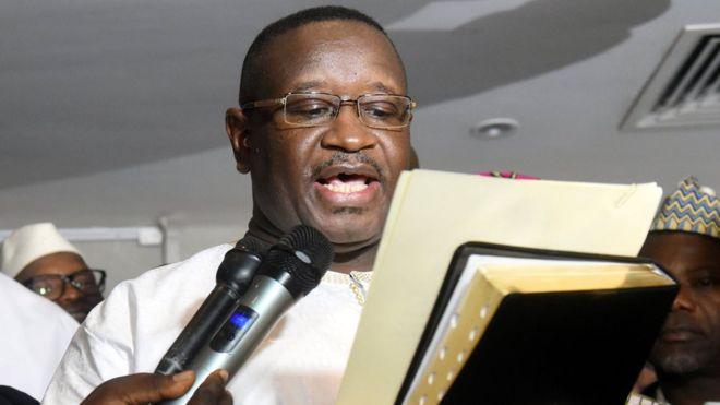 Sierra Leone Swears In Opposition Leader As New President