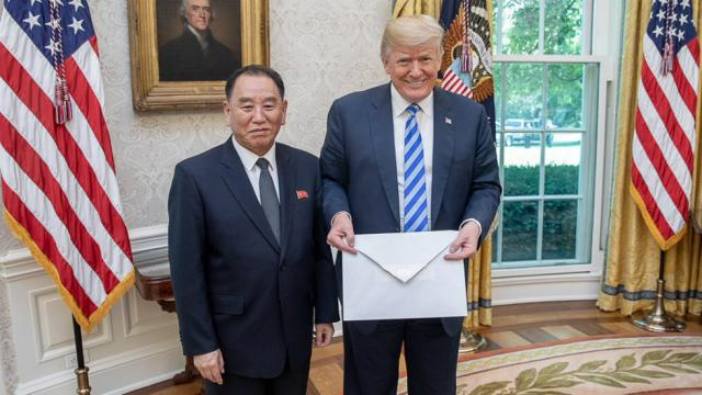Trump releases 'very nice' letter from Kim Jong Un – News Pulse Online