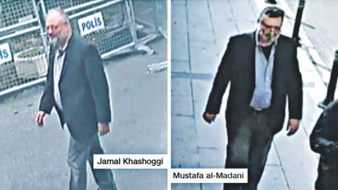 CCTV shows body doubles were used in Jamal Khashoggi's murder – News Pulse  Online