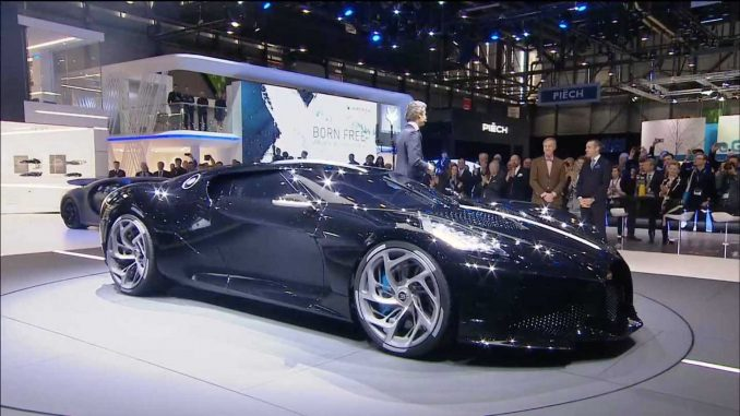 Just One Bugatti La Voiture Noire Exists And It S Priced: Bugatti 'La Voiture Noire' Is The Most Expensive New Car