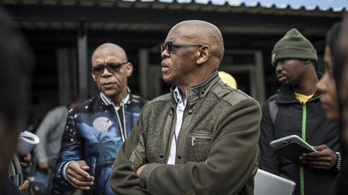 ANC says it has learned through media reports of Magashule